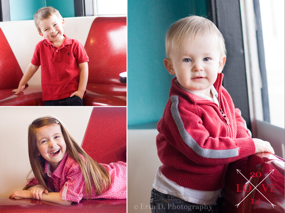 Boise Child Photographer | Valentine's Day Minis | Erin D. Photography