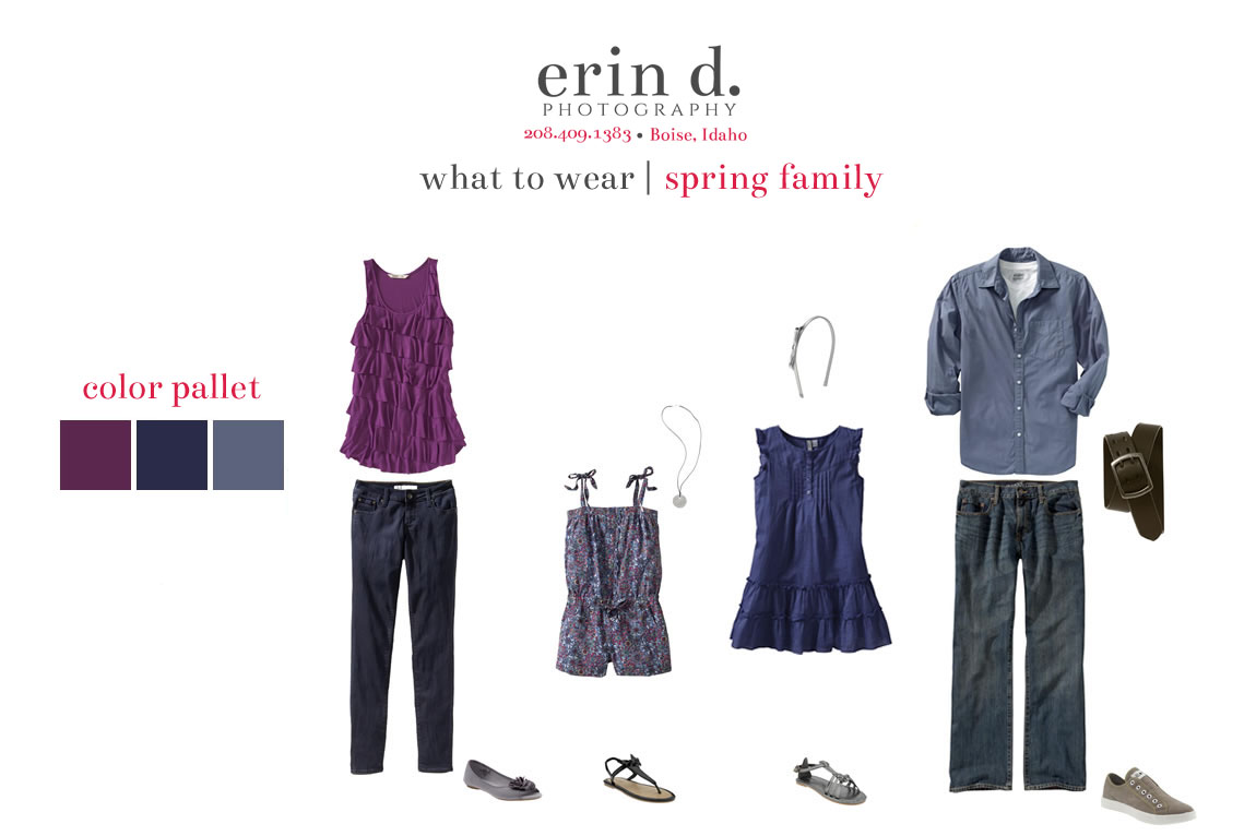 what to wear spring 2 | Erin D. Photography