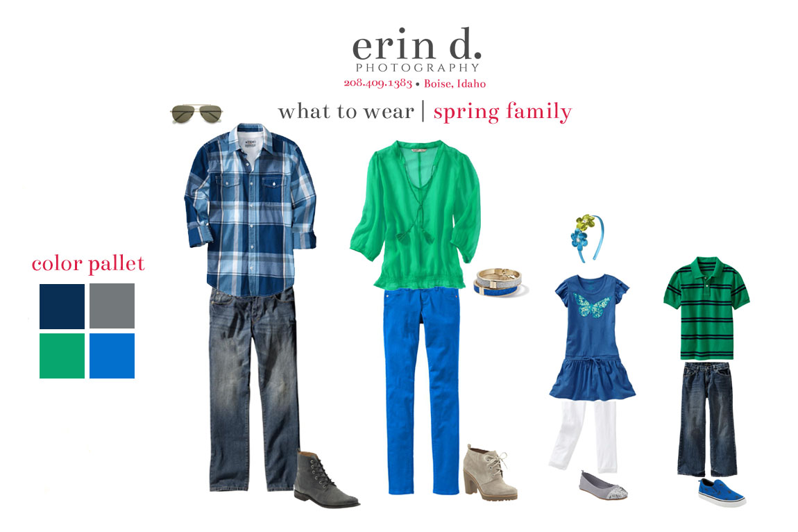 what to wear spring | Erin D. Photography
