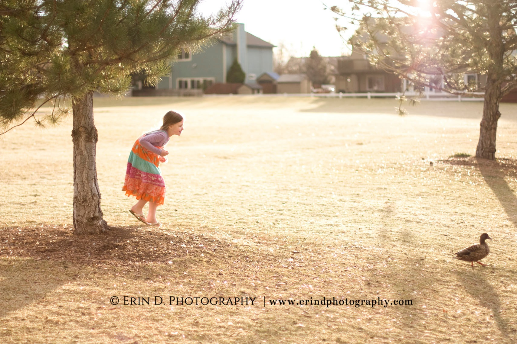 Late Winter Daddy Daughter Portraits | Erin D. Photography