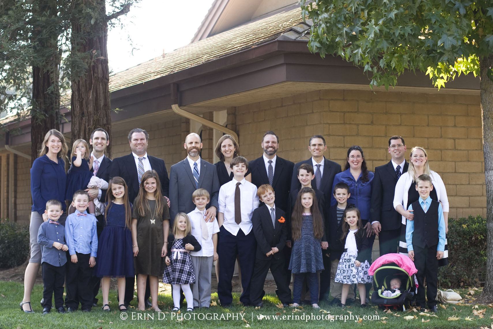 Extended Family Portraits | © Erin D. Photography | erindphotography.com