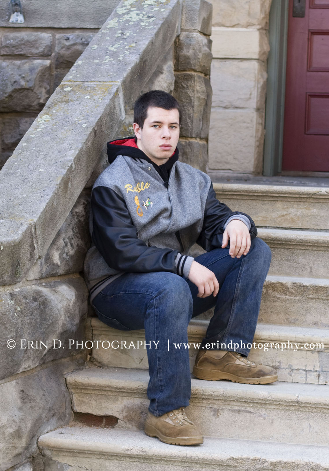 Guy Senior Portraits | © Erin D. Photography