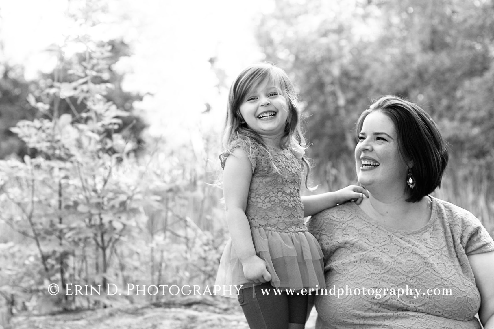 Mother Daughter Portraits | © Erin D. Photography